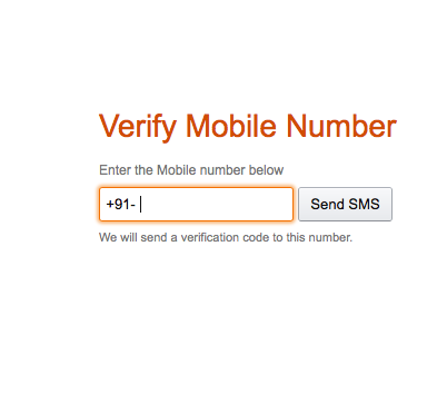 amazon mobile number